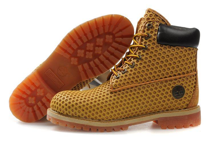 Mens Custom Timberland Boots Amber mesh wenting's blog